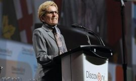Ontario Premier Kathleen Wynne opened Discovery 2015 and announced a $25 million commitment to a Scale Up Ventures Fund to provide early-stage start-ups with early-stage capital, mentorship and market access.