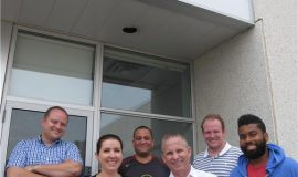 The Gap Wireless team at Mississauga facility.