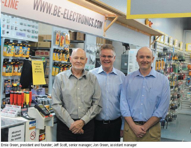 B&E Electronics team