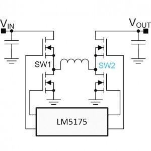 Figure 9. Four-switch, buck-boost.