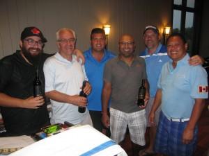 SMTA Golf Tourn winn 4some