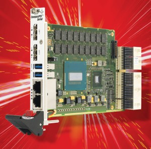 New Intel i7-based SBC added to MEN Micro's Scalable CompactPCI Serial Family