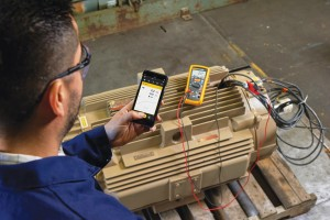 Wireless test tools can send test results to a smartphone, to the Internet and to a centralized database … all part of the Industrial Internet of Things (IIoT).