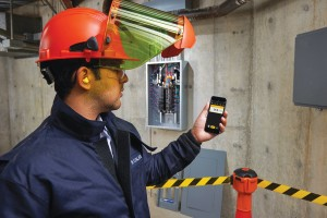 One benefit of wireless data transmission is keeping workers away from potentially hazardous electrical panels or moving machinery.