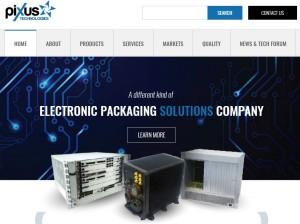 Pixus Technologies new website