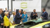 Harting Hannover visit Pres Obama & Chancellor Merkel