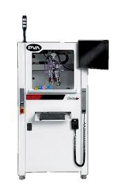 PVA Delta 6 conformal coating machine.