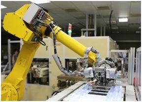 Jabil Fig 2 robotic arm