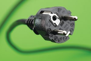 The Continental European plug used throughout Europe needs the plug to be inserted into a recessed socket.