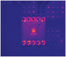 Figure 2: Unpowered resistor set lens.