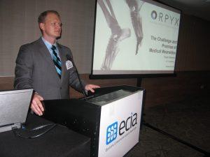 Travis Stevens, VP engineering Orpyx Medical Technologies Inc.