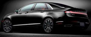 Lincoln MKZ hybrid sedan nicknamed Autonomoose