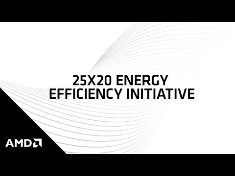 Amd Delivers 25xs Improvement In Mobile Processor Energy Efficiency Electronic Products Technologyelectronic Products Technology
